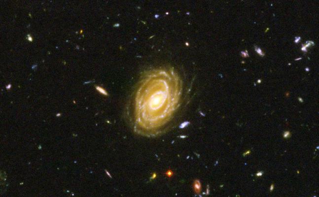 Los primeros planetas exogalácticos, a 3.800 millones de años luz