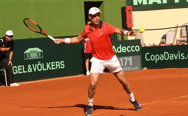 España pierde el segundo partido de la Copa Davis
