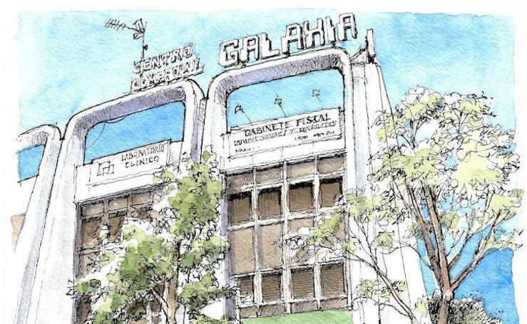 Málaga a Trazos. Futurismo galáctico