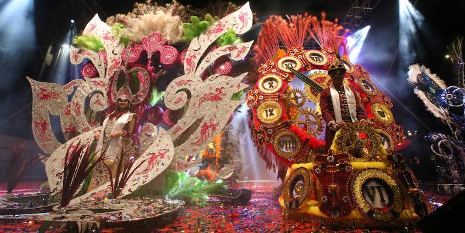 El Carnaval corona a sus dioses