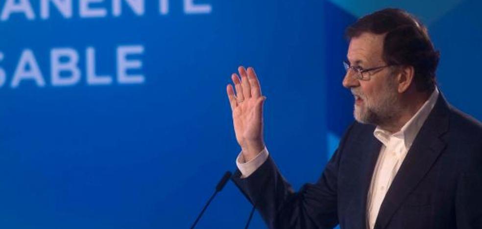 Rajoy: «Nadie podrá decir que hemos aceptado el chantaje en Cataluña»