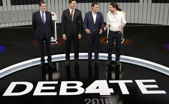 Rivera e Iglesias unen fuerzas frente a PP y PSOE para igualar el valor del voto