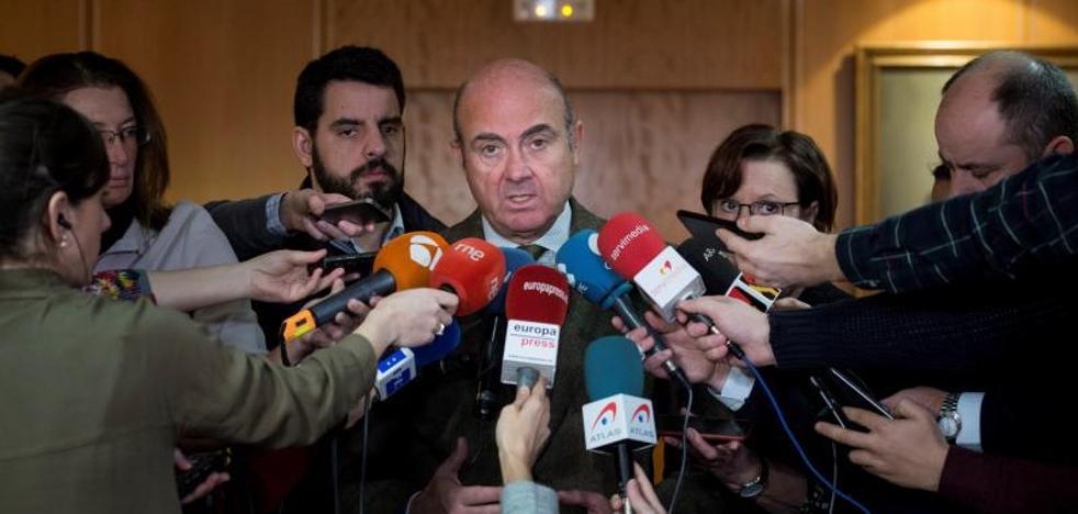 El PSOE rechaza a De Guindos como candidato a la vicepresidencia del BCE