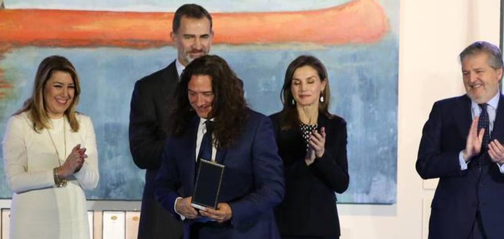 Estos son los premiados que han recibido hoy en Málaga la Medallas al Mérito en las Bellas Artes
