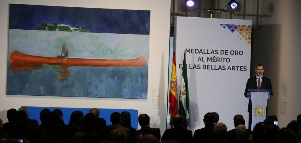 Discurso íntegro de Felipe VI en la entrega de las Medallas de Oro al Mérito en las Bellas Artes 2016