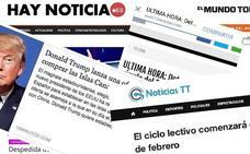 Las webs para crear noticias falsas detrás de gran parte de los bulos que circulan por Whatsapp y redes sociales