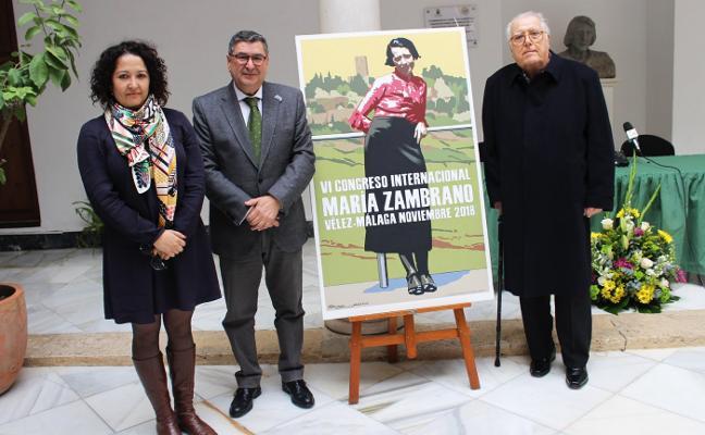 Vélez rescata el Congreso Internacional de María Zambrano después de diez años