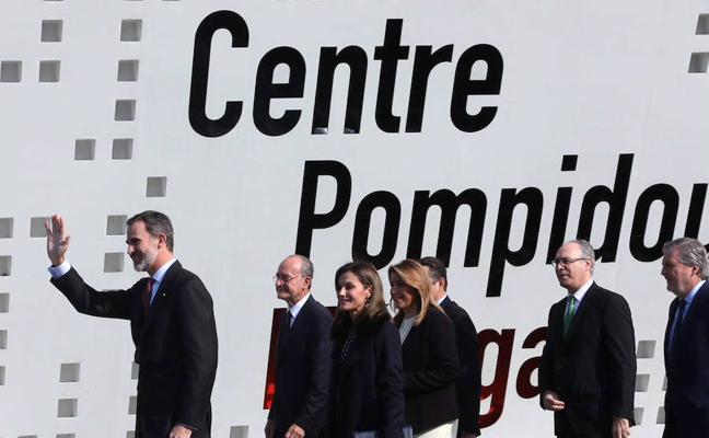 El Rey elogia a Málaga como «una de las ciudades más modernas de Europa»