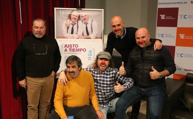 Síndrome Clown y Ángel Idígoras llegan 'Justo a tiempo' al 35 Festival de Teatro de Málaga
