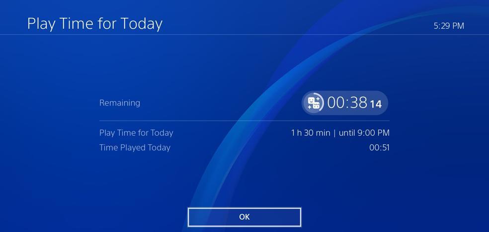 PlayStation incorpora un sistema que permitirá a los padres controlar el tiempo de juego de los hijos