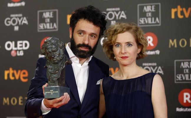 El director y guionista Rodrigo Sorogoyen, Premio Málaga Talent-Eloy de la Iglesia del Festival de Málaga