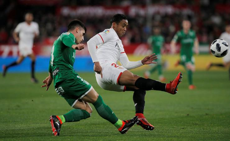 Las mejores imágenes del Sevilla-Leganés