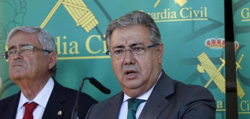 Rifirrafe entre Zoido y Susana Díaz por la seguridad en el Campo de Gibraltar por los narcos