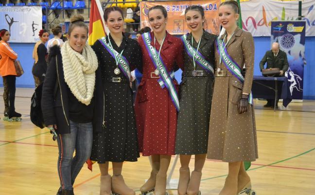 El Club Patinaje Artístico de Alhaurín de la Torre se proclama subcampeón de Andalucía
