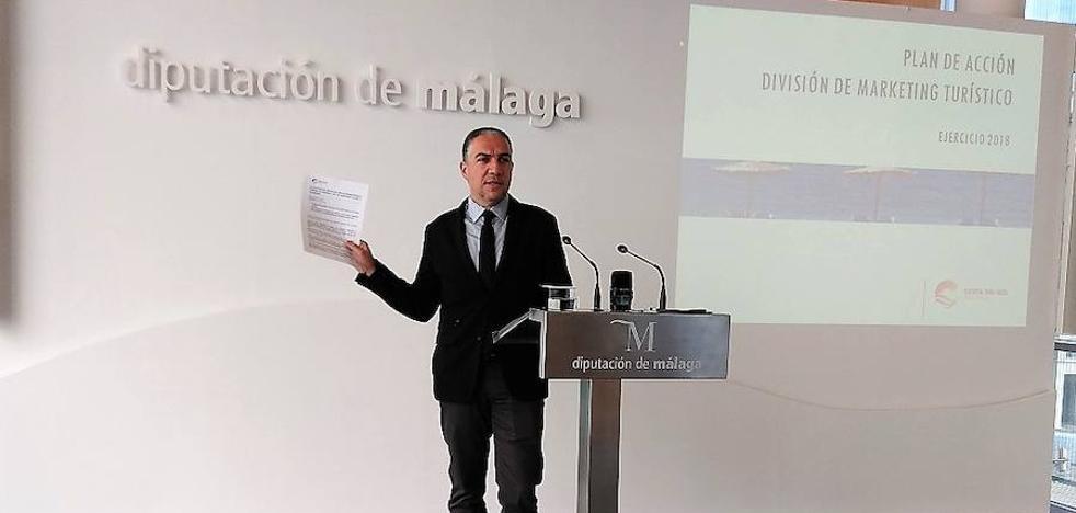La Costa del Sol destinará 6,2 millones para promocionar el destino en treinta países