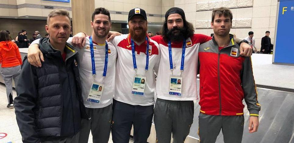 Regino Hernández, ya en Corea del Sur para sus terceros Juegos Olímpicos