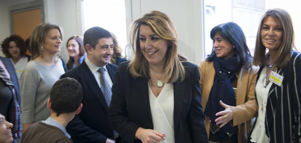 Susana Díaz viaja hoy a La Línea mientras pide al Gobierno más refuerzos policiales