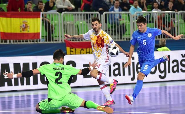 Miguelín y Alex: «Tenemos que dar la mejor versión de España para ganar»