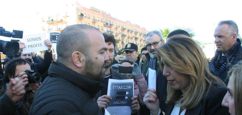 Susana Díaz reclama efectivos para compensar los perdidos en el Campo de Gibraltar
