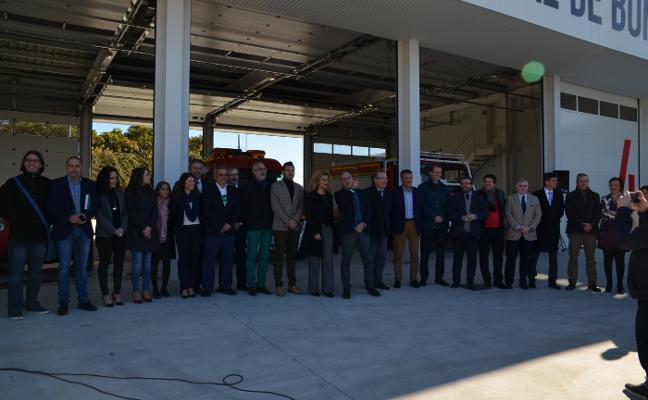 Inauguran el parque de Bomberos de Nerja, que atenderá a 40.000 personas
