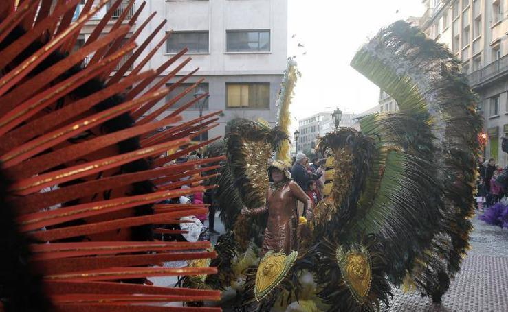 Málaga disfruta de su penúltimo día del Carnaval 2018 en la calle