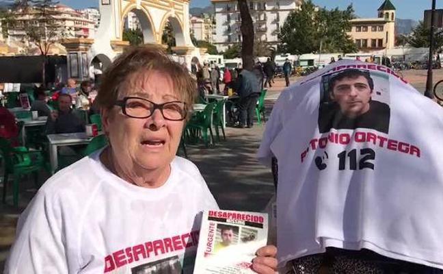 La madre del hombre desaparecido en Torremolinos hace un llamamiento desesperado de ayuda