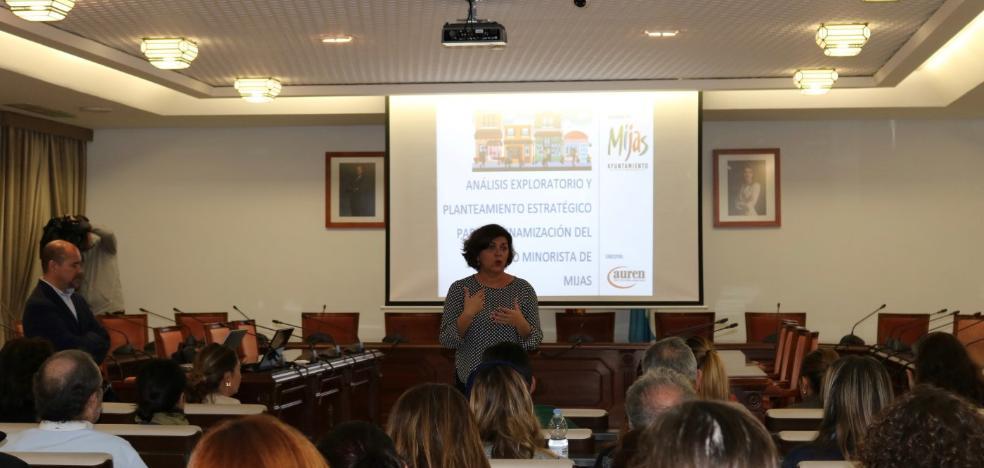 Mijas anuncia un plan para mejorar el comercio local