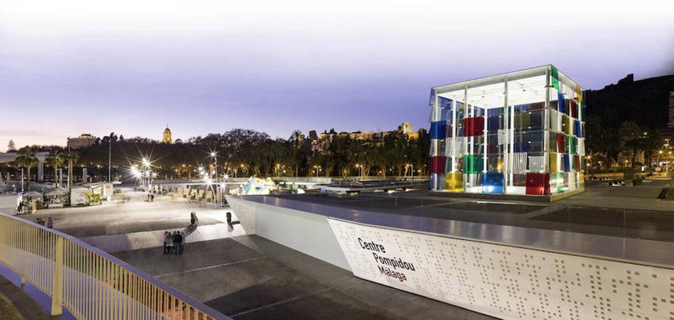 Principio de acuerdo para que el Pompidou siga en Málaga hasta 2025
