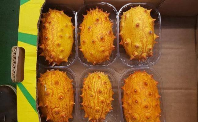 La extraña fruta con pinta de alien que se vende en Málaga