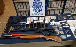 Desmantelan en Málaga capital un punto de venta de heroína, cocaína y hachís