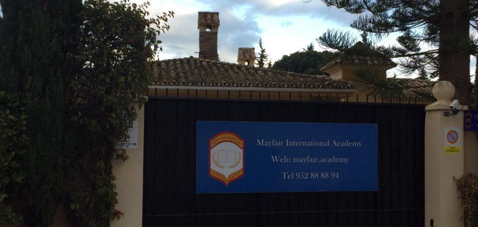 El colegio Mayfair Academy de Estepona se enfrenta a una demanda de desahucio por impagos