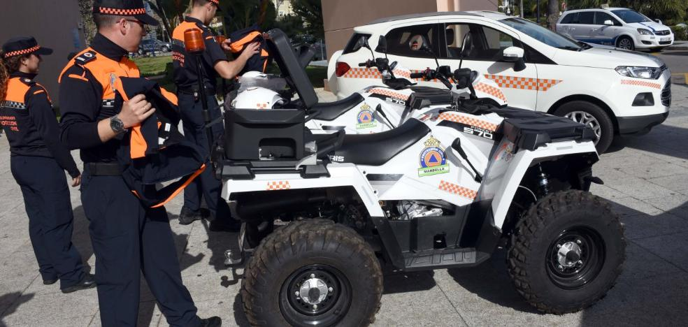 Ángeles Muñoz propondrá al Pleno la concesión de la Medalla de la Ciudad a Protección Civil