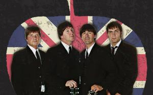 El cuarteto Imagine The Beatles revive en el Teatro Cervantes la magia de los de Liverpool