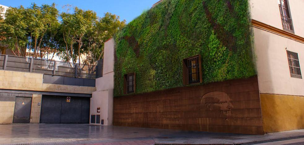Medio Ambiente proyecta otro jardín vertical en el entorno de Ollerías