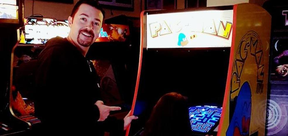 El hombre de las máquinas de videojuegos
