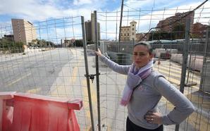 Victoria Fernández: «Las obras del metro me arruinaron la vida»