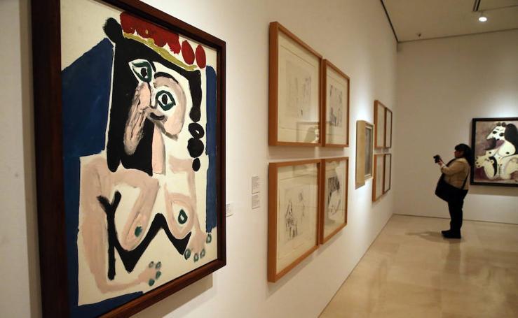 La exposición 'Y Fellini soñó con Picasso', en imágenes