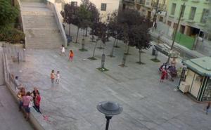 El área de Medio Ambiente realizará otro jardín vertical en la plaza Pepe Mena, en Ollerías