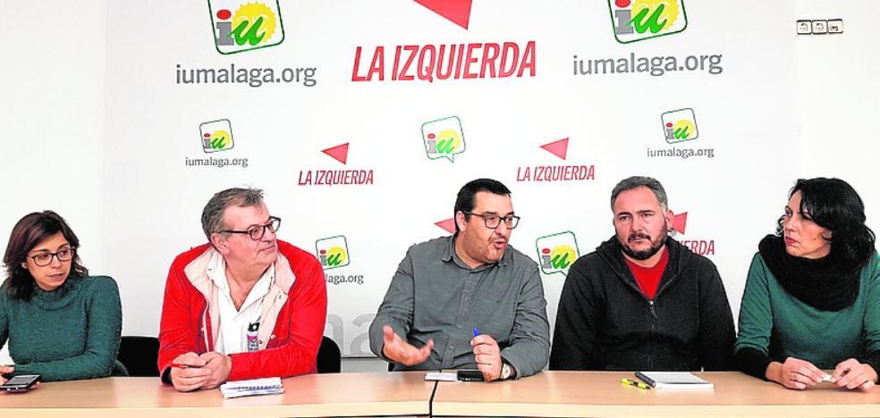 IU celebrará asambleas abiertas en los municipios sobre la confluencia electoral