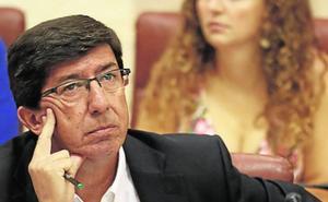 Marín afirma ahora que Cs ha «calmado las aguas» con el PSOE andaluz