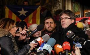 La Fiscalía es partidaria de pedir la entrega de Puigdemont solo por rebelión