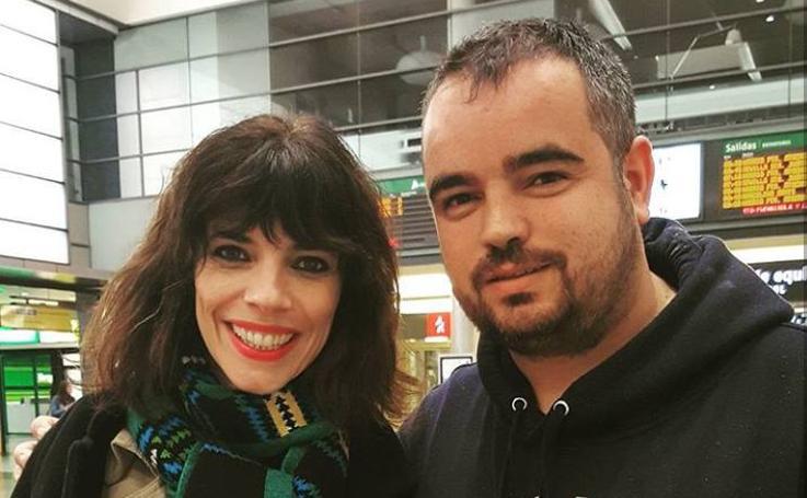 Fran Falcón se ha fotografiado con más de 200 'celebrities' que han pasado por Málaga en los últimos años