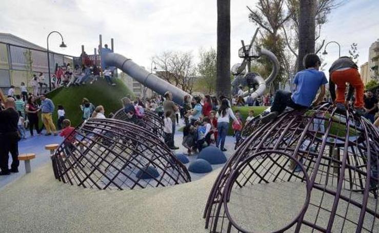 Los diez mejores parques para llevar a tus hijos en Málaga