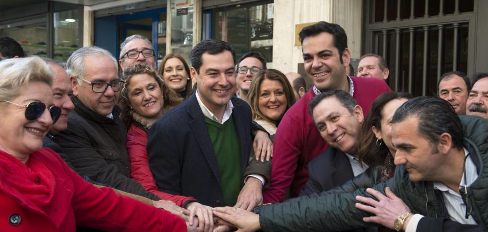Moreno frena la fuga de cargos del PP en Jaén tras el acuerdo con algunos críticos