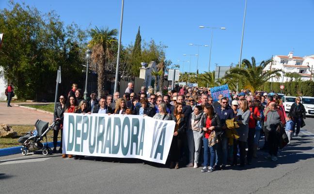 Medio Ambiente autoriza la reanudación de las obras de la depuradora de Nerja