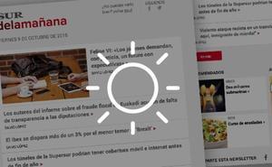 Recibe gratis los titulares del día con la newsletter de SUR
