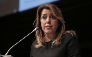 Díaz, a favor de la torre del Puerto: «Siempre ayudaré para que Málaga sea una ciudad de oportunidades»