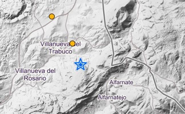 Tres terremotos sacuden en una hora a Villanueva del Trabuco