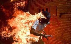Seis fotografías aspiran al World Press Photo, entre ellas una imagen de las protestas en Venezuela