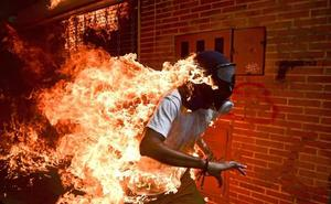 Seis fotografías aspiran al World Press Photo, entre ellas una imagen de las protestas en Venezuela